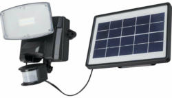 """LED-Solarfluter """"Max"""", mit Bewegungsmelder, schwarz"""