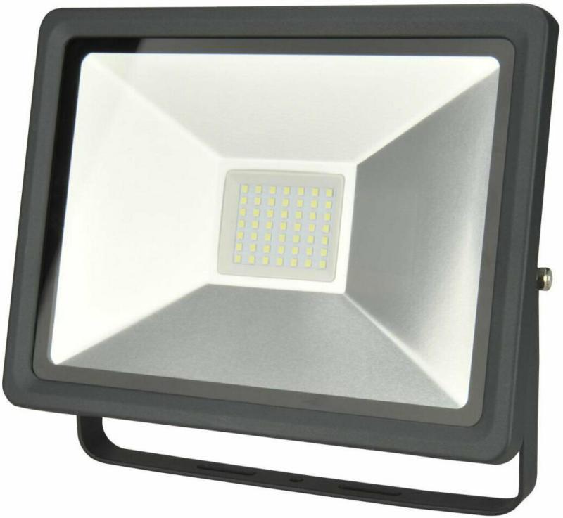 LED Wandstrahler, 50W, 4000lm anthrazit