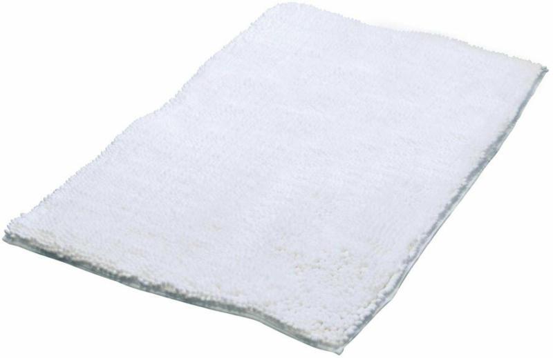 """Teppich """"Soft"""", 55x85 cm, weiß, Polyester-Microfaser"""