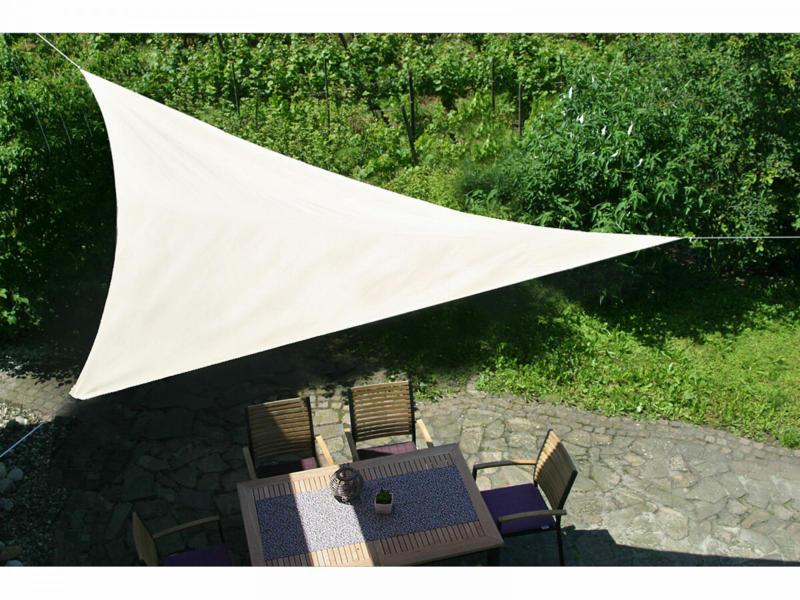 "Sonnensegel ""Natur"", 500 cm 500 cm"