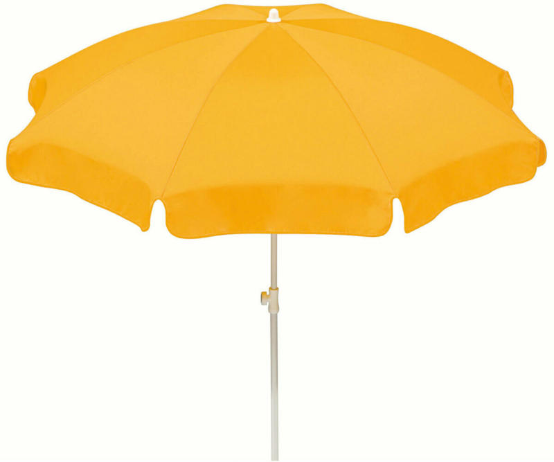 "Sonnenschirm ""Ibiza"", 240 cm, Goldgelb 240 cm | Goldgelb"