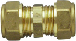 Messing Verschraubung, 18 mm, doppelt