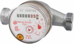 """Wasserzähler für Warmwasser, Qn 2,5 130 mm R 3/4"""""""