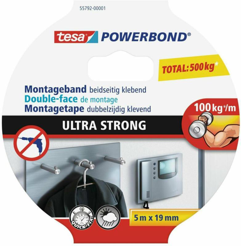 """""""Powerbond"""" """"Ultra Strong"""" 5mx19mm"""