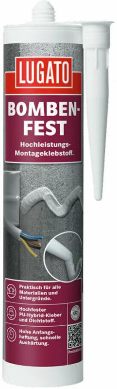 """Montagekleber """"Bombenfest Weiss"""", 480 g"""