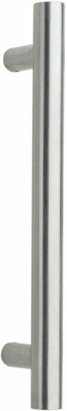 Stoßgriff Edelstahl Ø 30 mm, Stütze gerade, satiniert