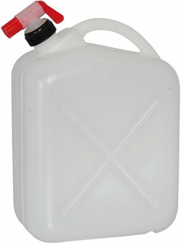 Wasserkanister, 10 Liter mit Hahn