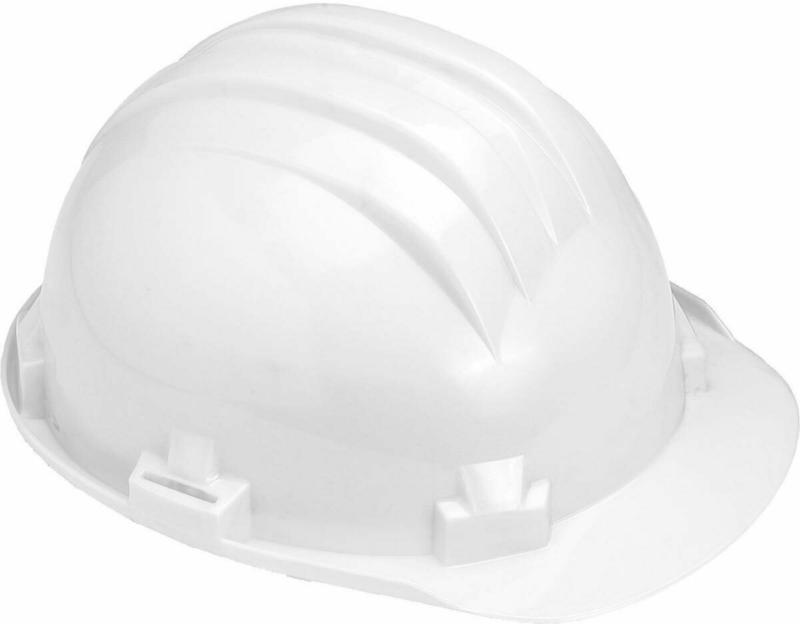 Schutzhelm, 6-Punkt, DIN4840, AS2, weiß