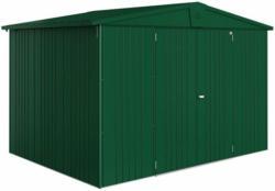 "Gerätehaus ""Europa"", 316x228x319 cm, dunkelgrün 316x228x319 cm | dunkelgrün"