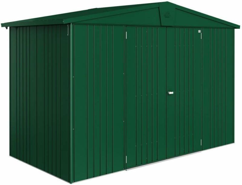 "Gerätehaus ""Europa"", 316x156x209 cm, dunkelgrün 316x156x209 cm | dunkelgrün"