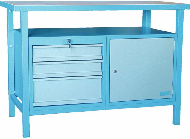 "Werkbank ""P 1200 SLT"" Blau"