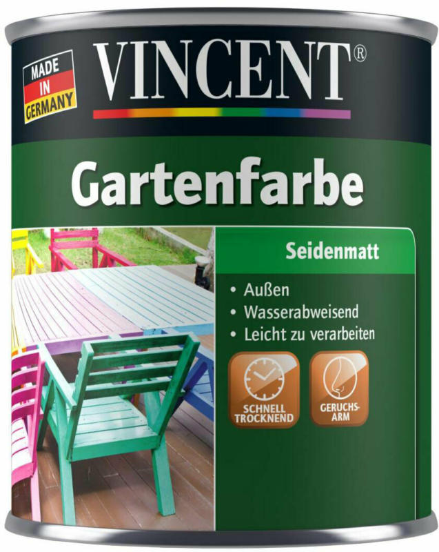 "Gartenfarbe ""apfelgrün"", 0,75 L apfelgrün"
