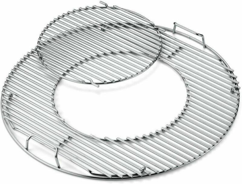 Gourmet BBQ System - Grillrost mit Grill rosteinsatz
