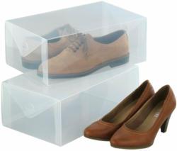 Aufbewahrungsbox für Schuhe, 2-er-Set