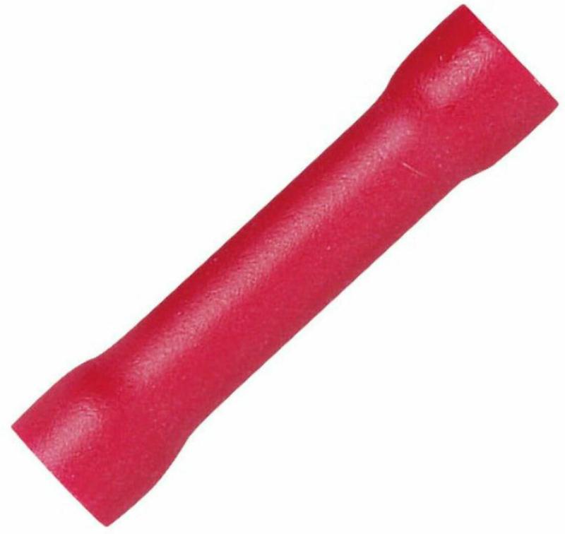 Stossverbinder rot, 0,5-1,5 mm, 50 Stück