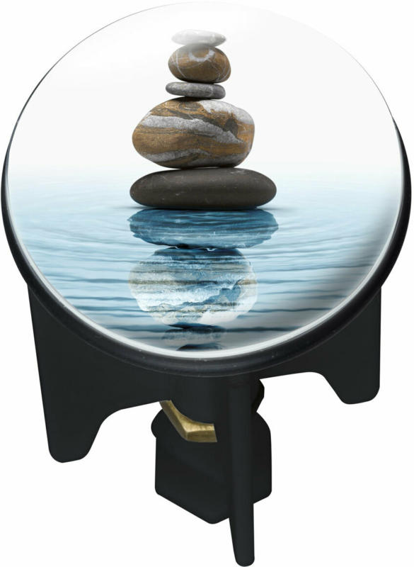 "Abfluss-Stopfen ""Pluggy"", Meditation"