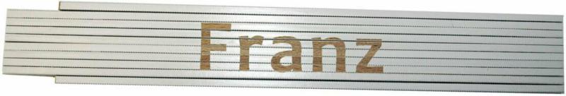 """Meterstab """"Franz"""", 2m, weiß Franz"""