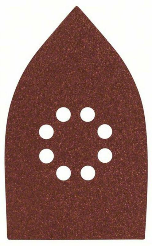 Multischleifblatt 100x171 mm, G80, Klett , 5 Stück