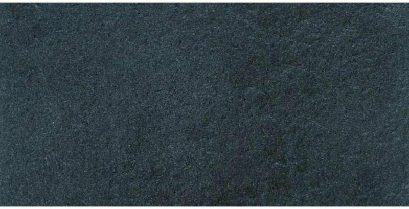 """Terrassenplatte """"No.1 Diamant"""", 80x40 cm, Schwarz-Basalt 80x40 cm"""