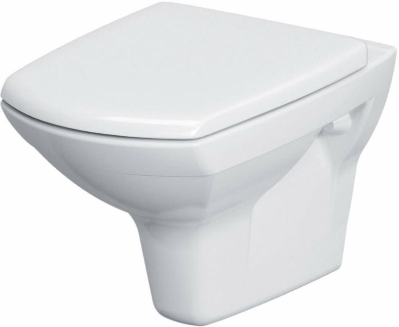 "Wand-WC ""Rimini"", spülrandlos, weiß"