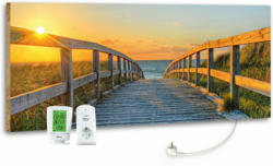 "Design-Heizkörper ""Footbridge"", mit Thermostat, 40x100 cm"