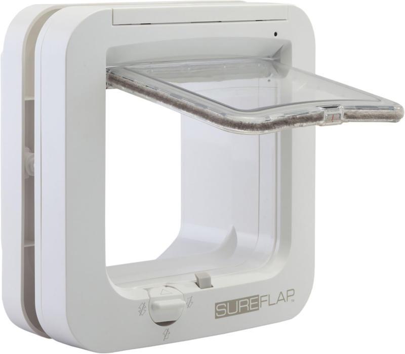 SureFlap Chatière à puce électronique SureFlap blanche