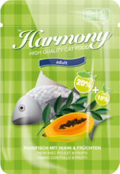 Harmony Cat Thon avec poulet & fruits 80g
