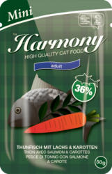 Harmony Cat Adult Mini Thon avec Saumon & Carottes 50g