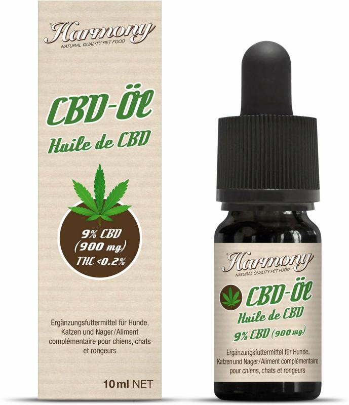 Harmony Pet Natural CBD-Öl 9% 10ml