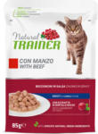 QUALIPET Trainer Katzenfutter Adult Rind in Sauce 85g