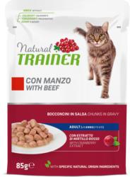 Trainer Feline Natural Adult Beef en sauce 85g