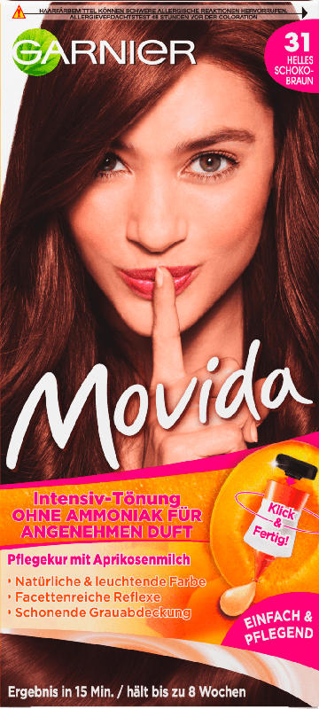 Movida Intensiv-Tönung Helles Schokobraun 31