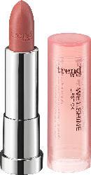 trend IT UP Lippenstift Wet Shine Lipstick nude 020