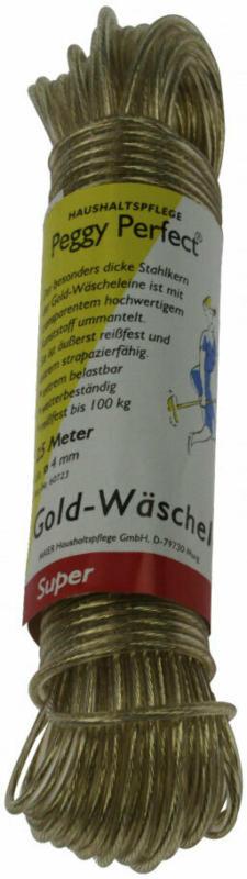 """Wäscheleine """"gold"""", 25 m"""