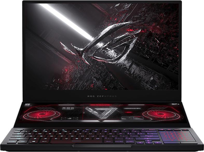 """Gaming Notebook ROG GX551QM-HF003T, R7-5800H, 16GB, 512GB, RTX3060, 15.6"""" FHD 300Hz + 14"""", Schwarz"""