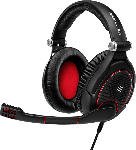 MediaMarkt Gaming Headset Game Zero, Over-Ear, 3.5mm, Schwarz/Rot