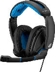 MediaMarkt Gaming Headset GSP 300, Over-Ear, 3.5mm, Schwarz/Blau