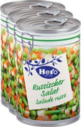 Hero Russischer Salat , 3 x 260 g
