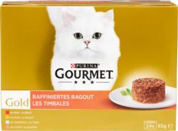 Cibo per gatti Gourmet Gold Purina, les Timbales, 24 x 85 g