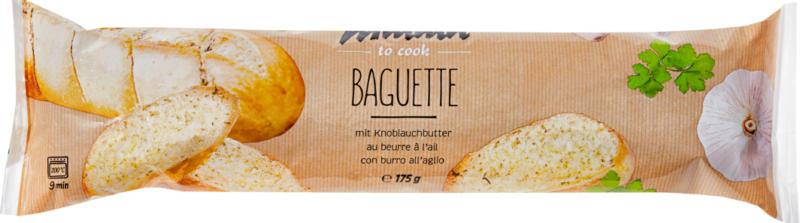 Baguette con burro all'aglio Mmmh, 175 g