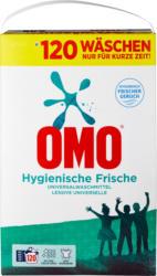 Omo Waschpulver Hygiene, 120 Waschgänge, 7,8 kg