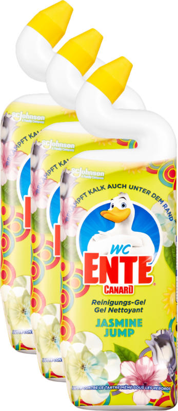 Canard WC Gel Jasmin Jump , 3 x 750 ml