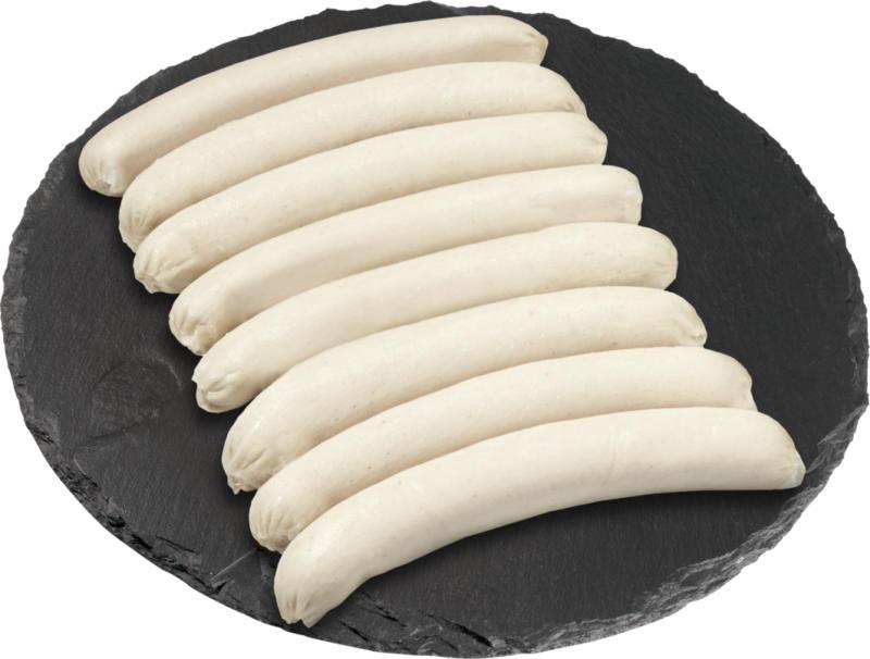 Saucisse à rôtir de volaille Denner, 2 x 4 x 100 g