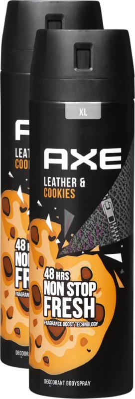 Axe Deo Bodyspray Collision, 2 x 200 ml