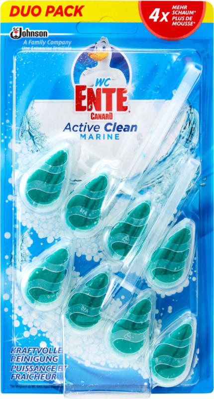WC-Ente Active Clean Marine Duo 2x38.6,