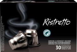 Capsule di caffè Ristretto Denner, compatibili con le macchine Nespresso®, 30 capsule