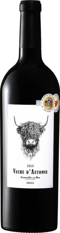 Vache d'Automne Cabernet/Syrah Pays d'Oc IGP , 2020, Languedoc-Roussillon, France, 75 cl