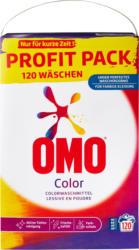 Omo Waschpulver Color, 120 Waschgänge, 7,8 kg