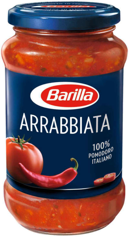 Barilla salsa arrabbiata 400 g -