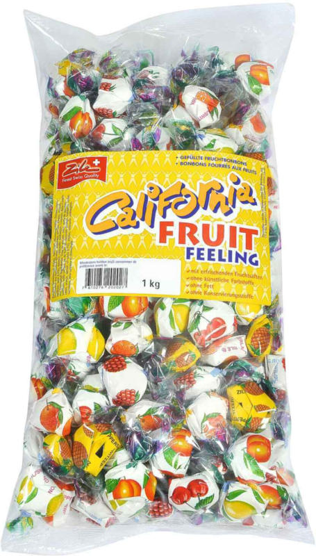Zile California Fruit Feeling caramelle alla frutta ripiene -